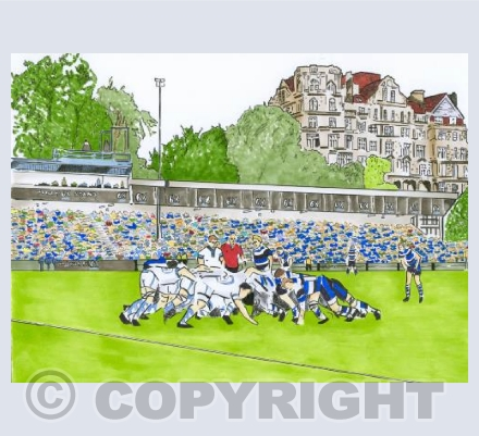 The Rec - Bath Rugby Ground