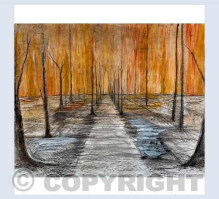 Mixed media pathway