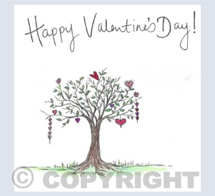 Happy Valentine's day Tree (2)
