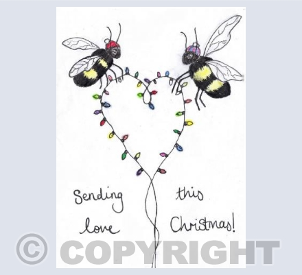 Sending bee love this Chirstmas!
