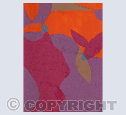 Abstraction with Garden Motif