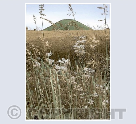 Silbury Mound: Summer Aspect.