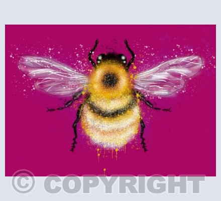 Bumble Bee - Pink