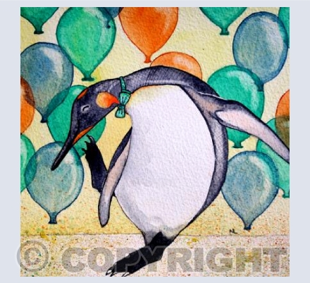 Disco Penguin