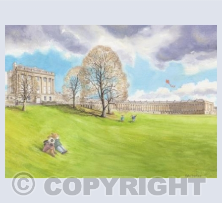 Kite Flying at The Royal Crescent