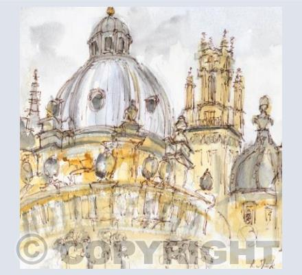 Oxford 'Dreaming Spires' card