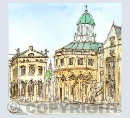 The Sheldonian, Broad Street, Oxford