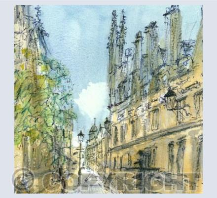 Catte Street, Oxford