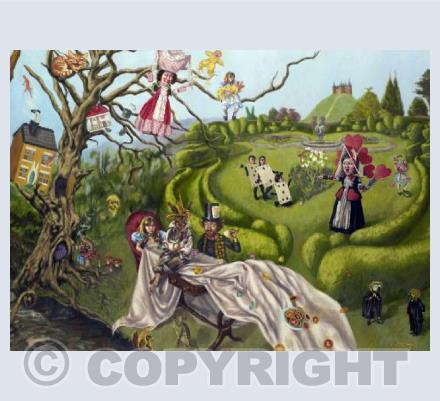 A Mad Tea Party & The Queen's Croquet-Ground