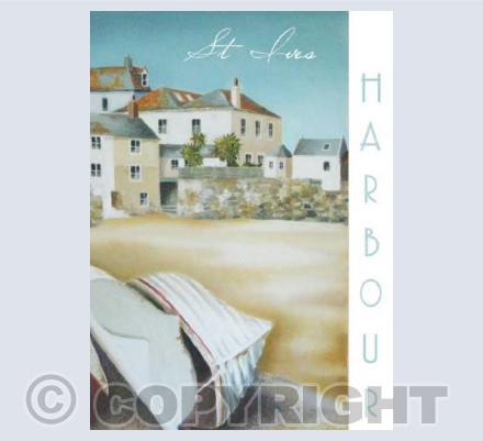 St Ives Harbour - Greetings Card