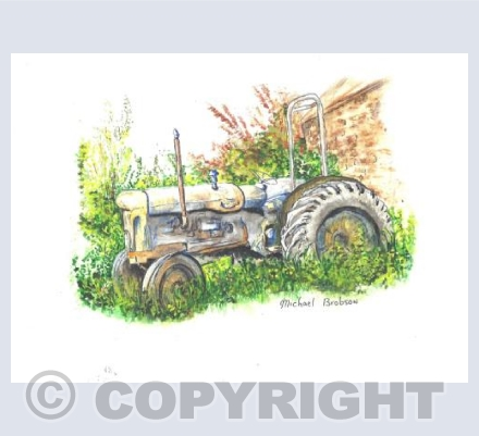 Rejected Tractor