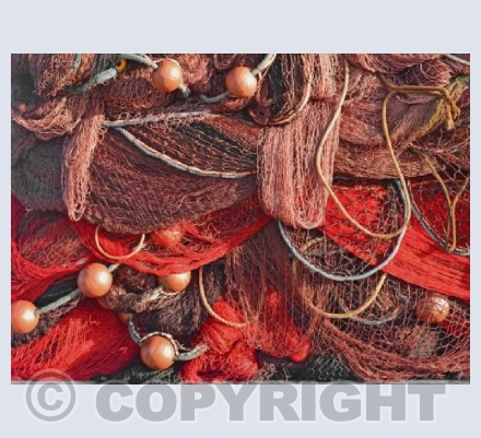 Fishing Nets Abstract