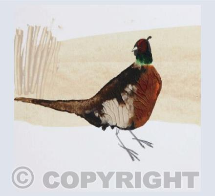 One Pheasant Card