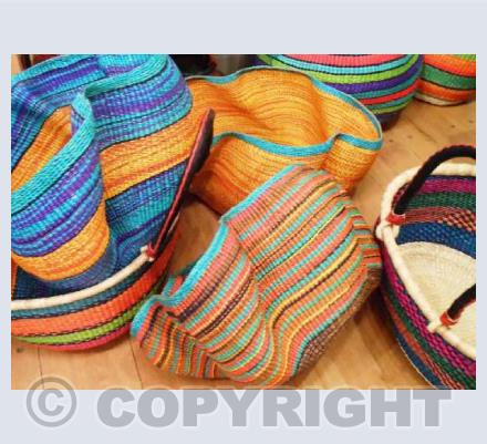 African Baskets made in Ghana