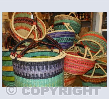 Bright and Bold Baskets