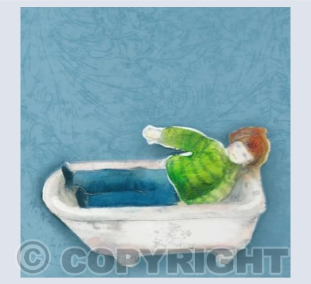 Bath-time (in the Dolls' House)