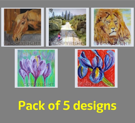Artist's choice - square designs