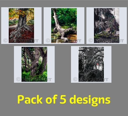 Pack 01 - Trees (portrait)