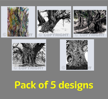 Pack 03 - Yew trees