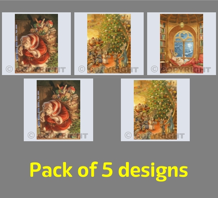 Christmas Card Pack 2