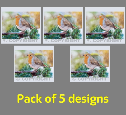 Robin (pack of 5)