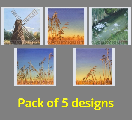 Greeting Cards from The Fens