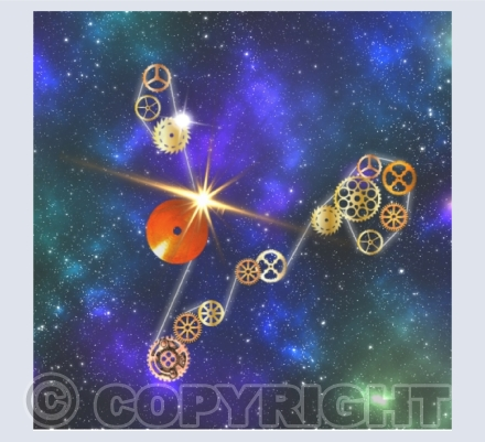 Steampunk Constellations