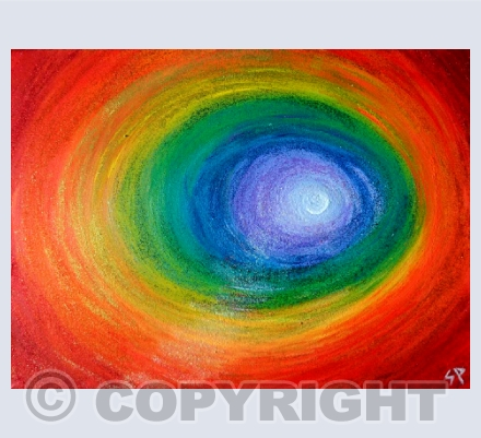 Chakra Healing /Abstract/Rainbow