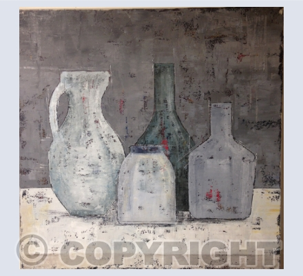 Still Life with Bottles