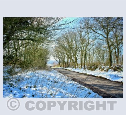winter in Sturminster Newton