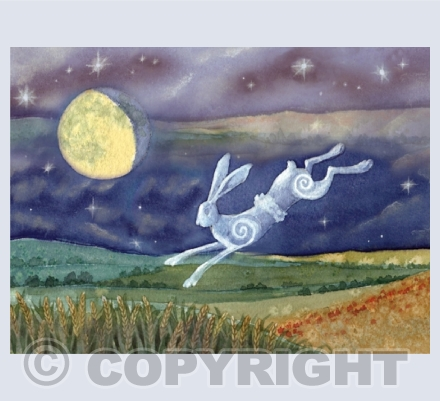 Luna Moon Hare Cards