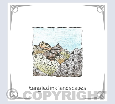 Tangled Ink Landscapes