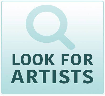 Look for artists by name or by location