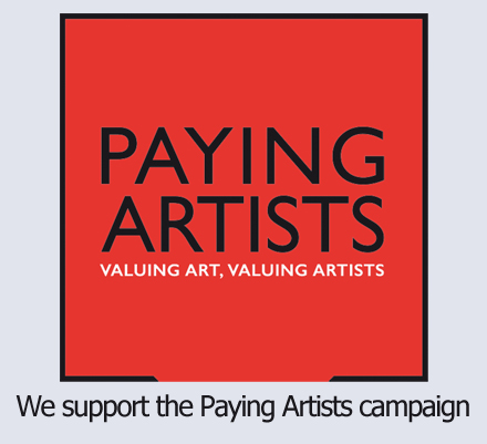 We support the Paying Artists campaign (Click to visit the website and learn more)