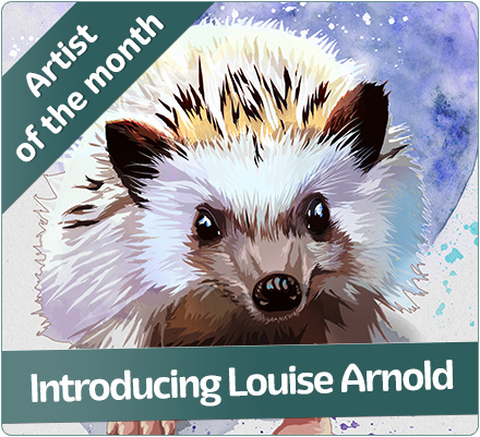 Artist of the month -Clare Blois